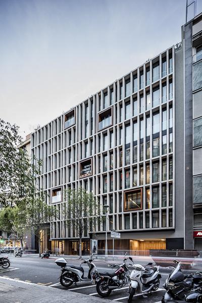 Hotel ohla eixample - Trabajo arquitecto barcelona ...