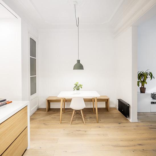 Reforma de un piso en calle borrell - Calle borrell barcelona ...